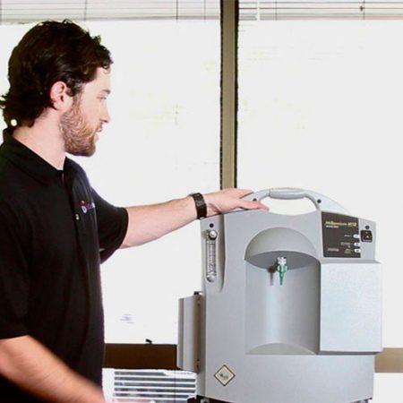 Concentrador de oxigeno portátiles Philips Respironics 5lpm